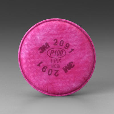 3M 70070614410 Pink Disk Filter, 4.3 Inch L X 4.3 Inch H 70070614410 3-M70070614410