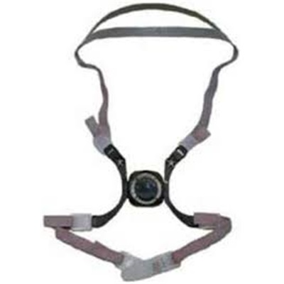 3-M 6281 Head Harness Assembly 6200 Respirator (4/Pks Of 5) 70070846087 3-M70070846087