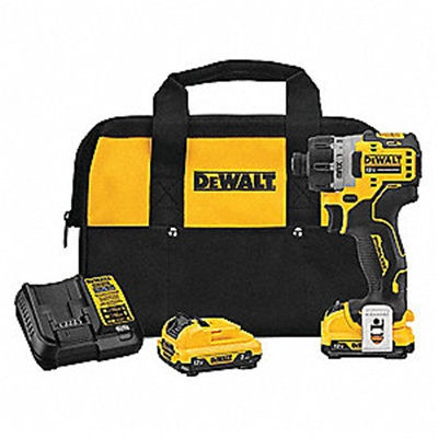 Dewalt 12V Xmax Screwdriver Kit 1/4 Brushless DCF601F2 DEWDCF601F2
