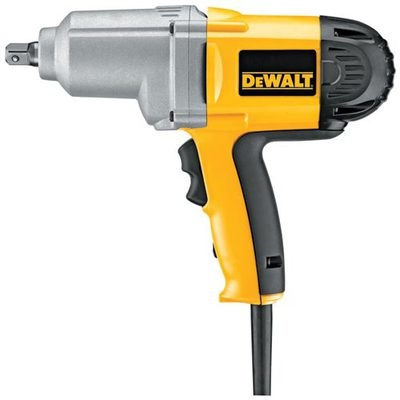 Dewalt Dw292 120 Volt Corded Impact Wrench With Detent Pin Anvil, 1/2 Inch, 2700 Ipm, 345 Ft.-Lb. DW292 DEWDW292