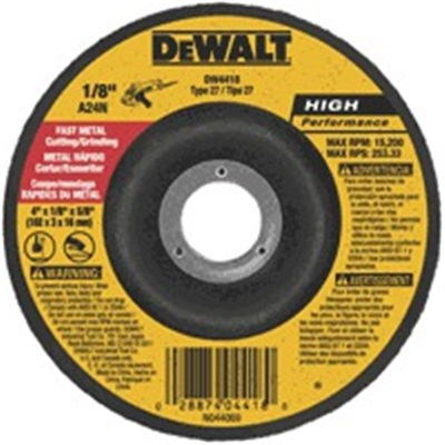Dewalt High Performance Dw4518 24 Grit Alo2 Type 27