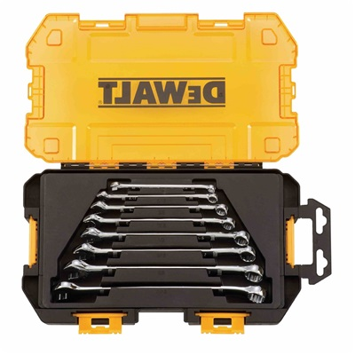 Dewalt Tough Box Tool Kit, Sae Combination Wrench Set DEWDWMT73809 DEWDWMT73809