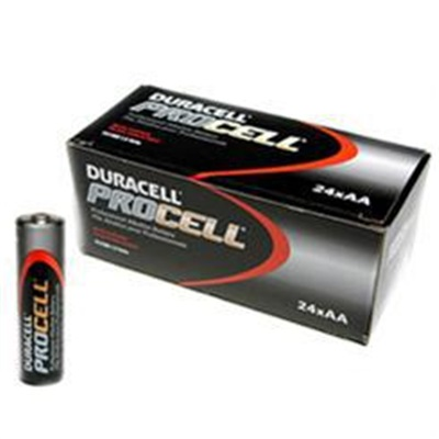 Rechargeable Alkaline Batteries >> Duracell Procell Pc1500bkd 2450 Mah Flat Non Rechargeable Alkaline Battery 1 5 V Aa