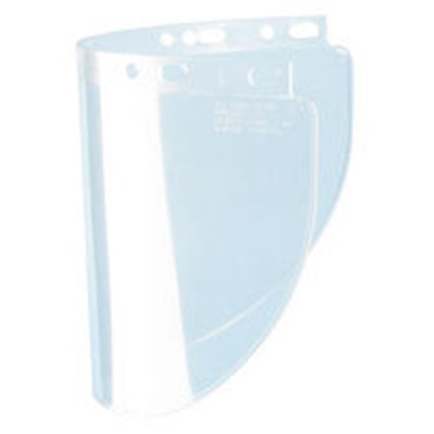 Fiber Metal High Performance 4178Clbp Wide View Faceshield Window, 8 Inch H X 0.06 Inch T X 16-1/2 Inch W Visor 4178CLBP FIB4178CLBP