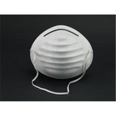Gerson 1501 Universal White Disposable Nuisance Dust Mask, N95 Filter Class