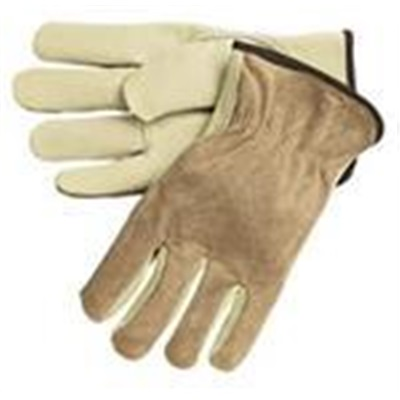 Drivers Glove Large Grain 120/Cs Leather (Brown) (3202) (Y0133) (1440) GNSLDRGLOVE-L GNSLDRGLOVE-L