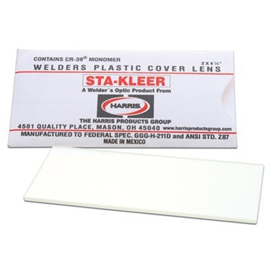 Harris Sta-Kleer 1010010 Clear Cover Lens, 4-1/4 Inch L X 2 Inch W 1010010 HAR1010010