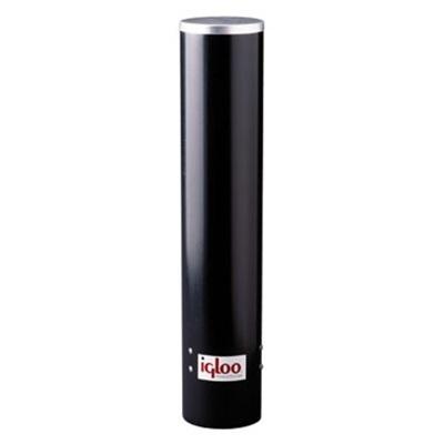 Igloo® 9534 Black Plastic Cup Dispenser for Water Cooler, 7 oz