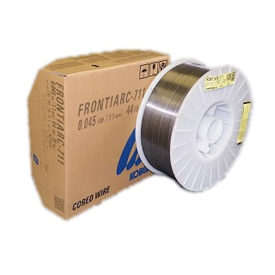 Kobelco Frontiarc-711 71104544 E71t Gas Shielded Mild Steel Flux-Cored Wire, .045,44 Lb Spool KOB71104544 KOB71104544