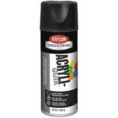 Krylon K01602 12 Oz Aerosol Can Water Based Acrylic Lacquer Spray Paint Ultra Flat