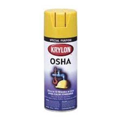 Krylon® K01813 12 oz Aerosol Can Solvent Based Spray Paint, Gloss Safety  Yellow