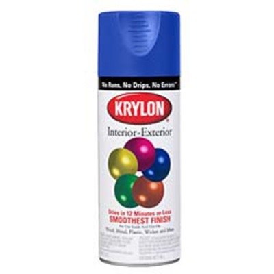 Krylon K02001 12 Oz Aerosol Can Water Based Acrylic Lacquer Spray Paint Gloss Hunter Green