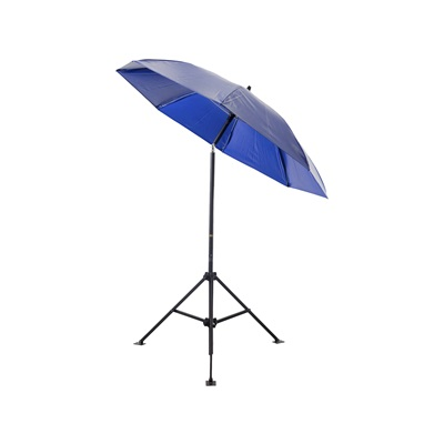 Lapco Um7vbx 18 Oz Vinyl Heavy-Duty Umbrella, Blue, 7 Ft L LAPUM7VBX LAPUM7VBX