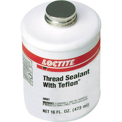loctite 1527514 white thread sealant with ptfe 1 pt brushtop can 1527514 loc1527514 gas and