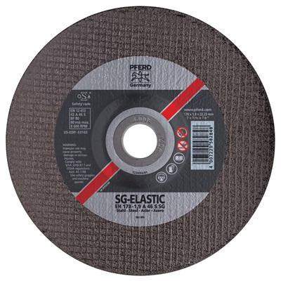 Pferd 63115 46-Grit Alo2 Type 27 Depressed Center Cut-Off Wheel, 4-1/2 Inch X 1/8 Inch X 5/8-11 63115 PFE63115
