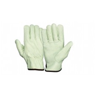 Pyramex Gl2001k Value Grain Cowhide Leather Keystone Thumb Driver Gloves Large GL2001KL PYRGL2001KL