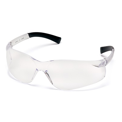 Pyramex S2510s Clear Polycarbonate Wraparound Ztek Safety Glasses PYRS2510S PYRS2510S