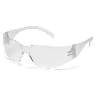 Pyramex S4110s Clear Polycarbonate 4100 Series Intruder Safety Glasses PYRS4110S PYRS4110S