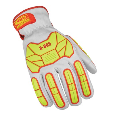 R-Hide Impact Leather Glove Level 5 Cr, Size Large RIN665-R-10 RIN665-R-10