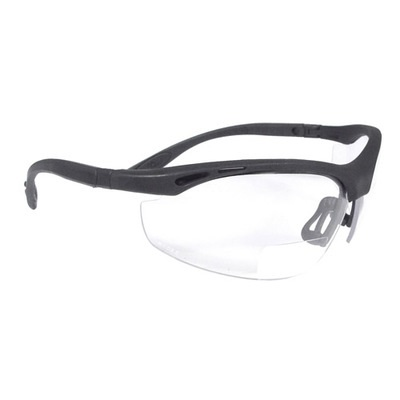 Radians Cheaters Ch1-130 Clear Polycarbonate Bi-Focal Reader Safety Glasses RPGCH1-130 RPGCH1-130