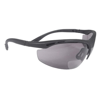 Radians Cheaters Ch1-215 Smoke Polycarbonate Bi-Focal Reader Safety Glasses RPGCH1-215 RPGCH1-215