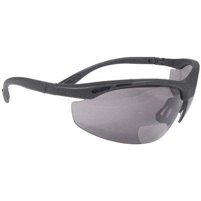 Radians Cheaters Ch1-220 Smoke Polycarbonate Bi-Focal Reader Safety Glasses RPGCH1-220 RPGCH1-220