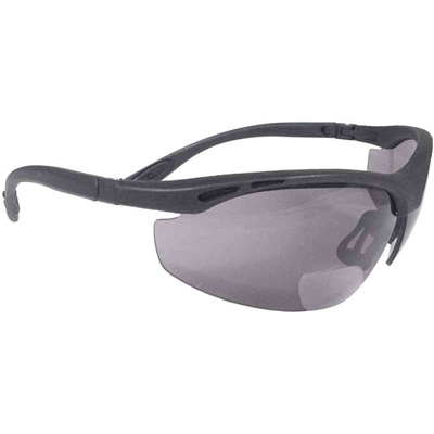 Radians Cheaters Ch1-225 Smoke Polycarbonate Bi-Focal Reader Safety Glasses RPGCH1-225 RPGCH1-225