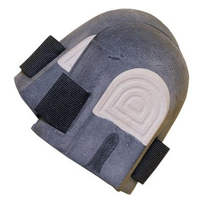 Tillman 564 Economy Knee Pad, Gray, Straps With Hook And Loop, Rubber Pad 564 TIL564