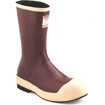 Tingley Mb924b-12 Brick Red Upper Neoprene Upper/Steel Toe Snugleg Boots, Size 12 TINMB924B-12 TINMB924B-12