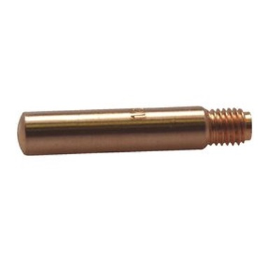 Tweco Weldskill 1140-1170 0.064 Inch 122 Dhp Copper Alloy 14 Series Standard Contact Tip, 0.052 Inch Wire, 400 Amp 11401170 TWE1140-1170