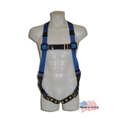 Web Devices Ha 120 P-Eco Universal Fit Economy Standard Full Body Harness With 1 Dorsal D-Ring WEB120-PECO WEB120-PECO