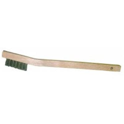Weiler® Vortec Pro® 44805 Wood Small Hand Scratch Brush, Stainless Steel  Wire Filament, 1/2 Inch Trim, 3 x 7, 7-1/2 x 1/2 Inch Block
