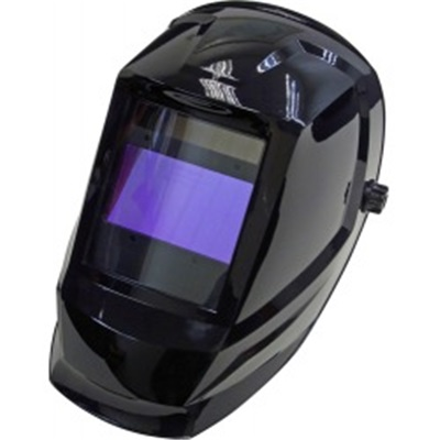 Weldcote Metals Klearview Shiny Black Auto-Darkening Welding Helmet, 2.36 Inch H X 3.98 Inch W Window WLMKLEARVIEW WLMKLEARVIEW