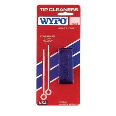 Wypo #1 Standard Powder Coated Aluminum Stainless Steel Tip Cleaner Kit, #6 - #45 WYPSTANDARD WYPSTANDARD