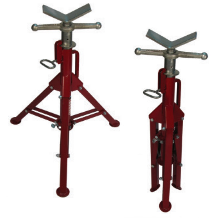 Pipe Jack Stands >> B B Steel Pipe Folding Leg V Head Pipe Jack Standard Size 0116