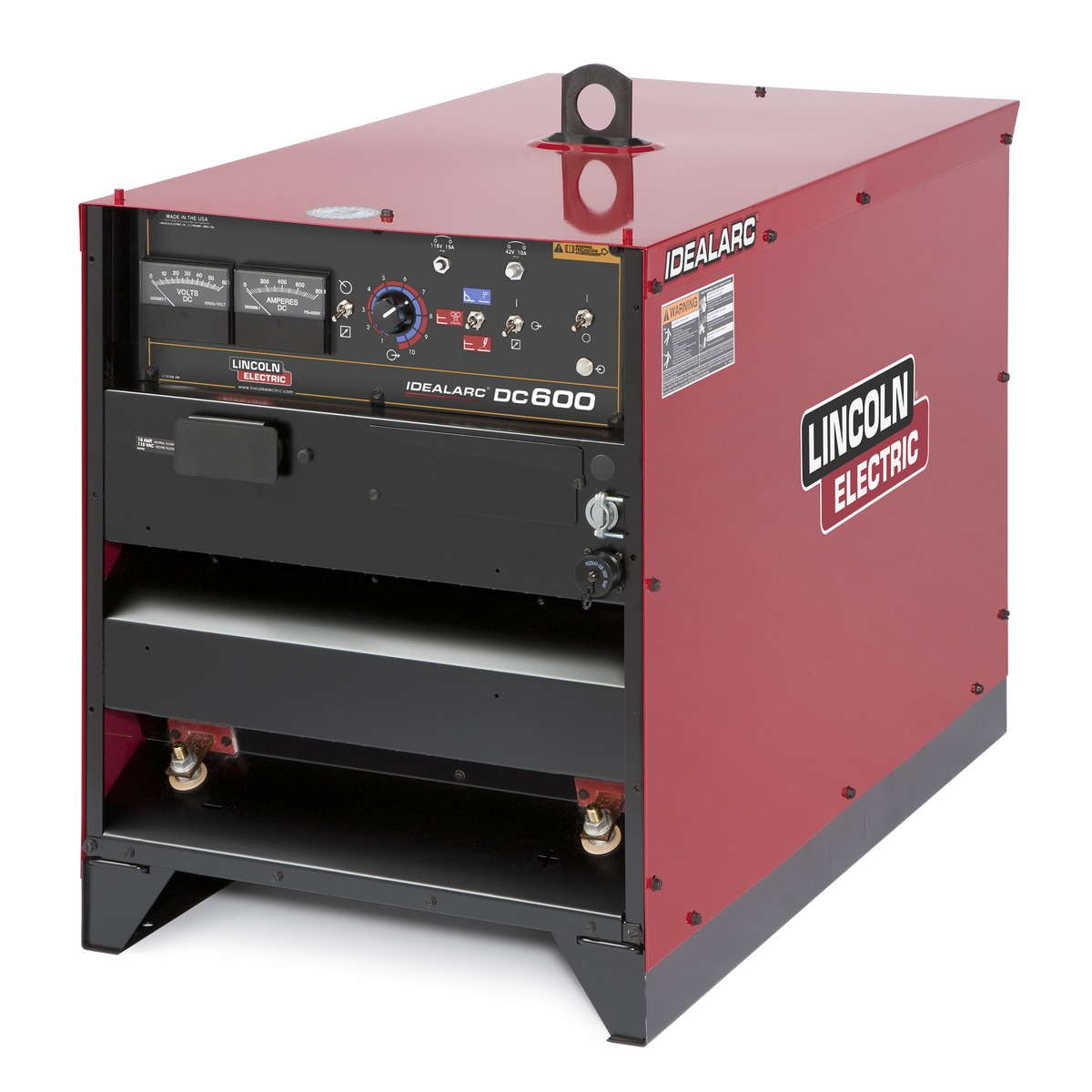 Lincoln Idealarc Dc 600 K1288 17 Multi Process Welder 230
