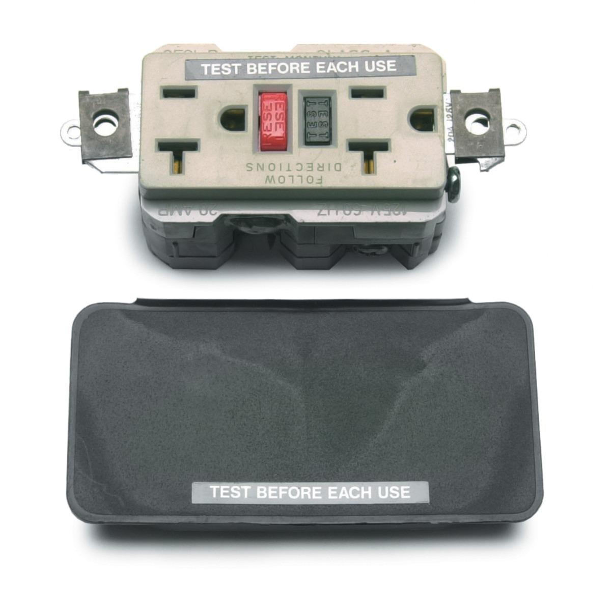 Lincoln K1690-1 Duplex 120 Volt 20 Amp Gfci Receptacle Kit For ...