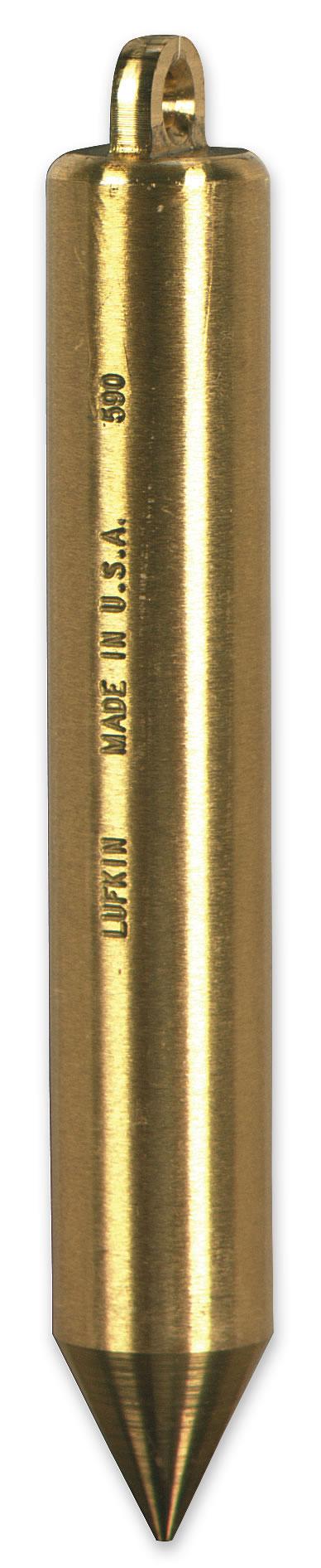 20 Oz Plumb Bob Solid Brass Inage Cylindrical Shape 590