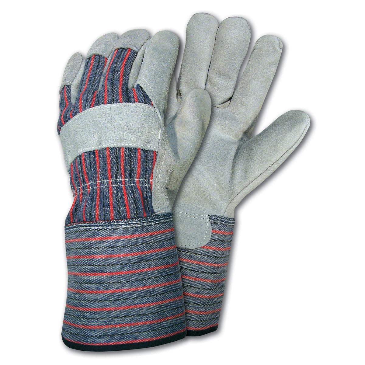 Gauntlet cuff leather work gloves - Memphis 1310 Xl Leather Palm Work Glove Gunn Pattern 4 1 2 Gauntlet Cuff
