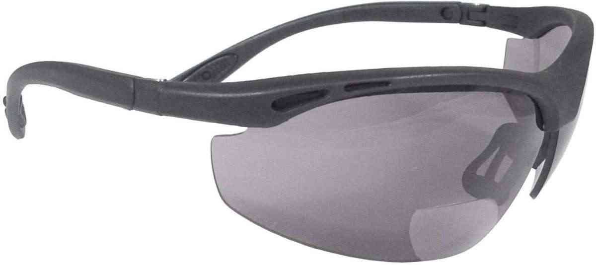 39f4c422243 Radians Cheaters Ch1-225 Smoke Polycarbonate Bi-Focal Reader Safety Glasses  RPGCH1-225