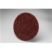 3-M61500141793 - 3M%e2%84%a2+Scotch-Brite%e2%84%a2+Roloc%e2%84%a2+Maroon+Aluminum+Oxide+Surface+Conditioning+Disc%2c+3+Inch+dia.%2c+Medium+Grade%2c+18000+Rpm