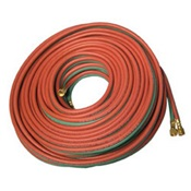 ANCLB1004 - Anchor%c2%ae+LB1004+Red%2fGreen+Synthetic+Rubber+Grade+R+Twin+Welding+Hose+With+B-B+Fitting%2c+1%2f4+Inch+x+100+ft