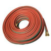 ANCLB504 - Anchor%c2%ae+LB504+Red%2fGreen+Synthetic+Rubber+Grade+R+Twin+Welding+Hose+With+B-B+Fitting%2c+1%2f4+Inch+x+50+ft