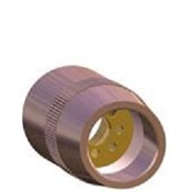 BERNS-1218C - Bernard+NS-1218C+1%2f2+Inch+Copper+Nozzle