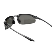 CPE21427 - CROSSFIRE+21427+CRYSTAL+BLACK+FRAME+WITH+SILVER+MIRROR+POLARIZED+LENS