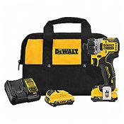 DEWDCF601F2 - DEWALT+12V+XMAX+SCREWDRIVER+KIT+1%2f4+BRUSHLESS