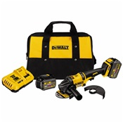 DEWDCG414T2 - DeWalt%3csup%3e%26reg%3b%3c%2fsup%3e+FLEXVOLT%3csup%3e%26trade%3b%3c%2fsup%3e+60V+MAX*+Grinder+and+Battery+Kit