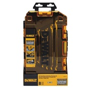 DEWDWMT74733 - DEWALT+TOUGH+BOX+8+PC+SAE+RAT.+COMBO.+WRENCHN+SET
