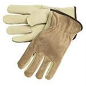 GNSLDRGLOVE-L - DRIVERS+GLOVE+LARGE+GRAIN+120%2fCS+LEATHER+(BROWN)+(3202)+(Y0133)+(1440)