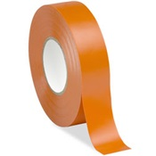 HIIVE-75OR - Harris%c2%ae+VE-75OR+Orange+Plasticized+PVC+Backing+Rubber+Adhesive+Electrical+Tape%2c+3%2f4+Inch+W+x+66+ft+L+x+7+mil+T